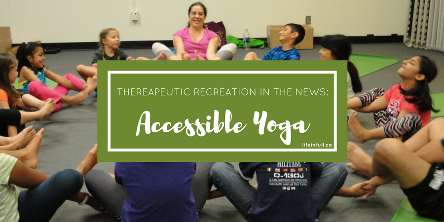 In the News: Accessible Yoga