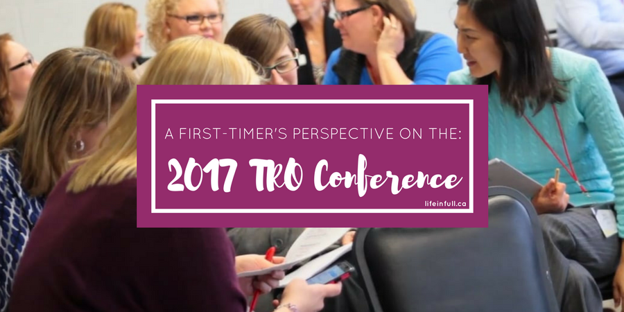 A first TRO Conference experience